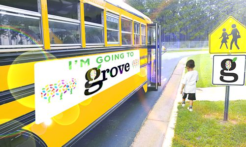 Ride the Bus to Grove